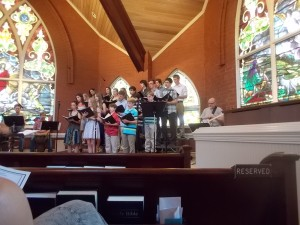053115 Dennis in youth choir