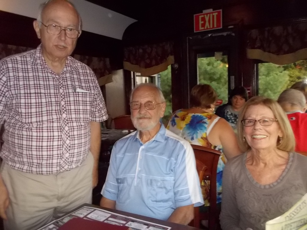 John, Al, and Karen at Clinton Diner