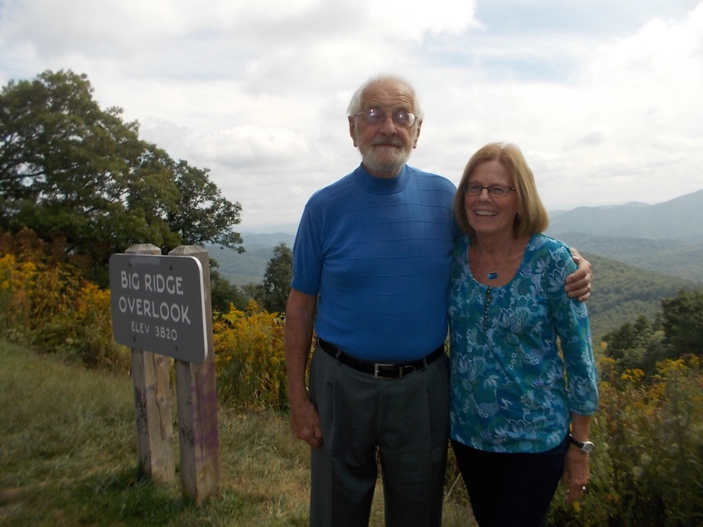 Al and Karen in the Smokies