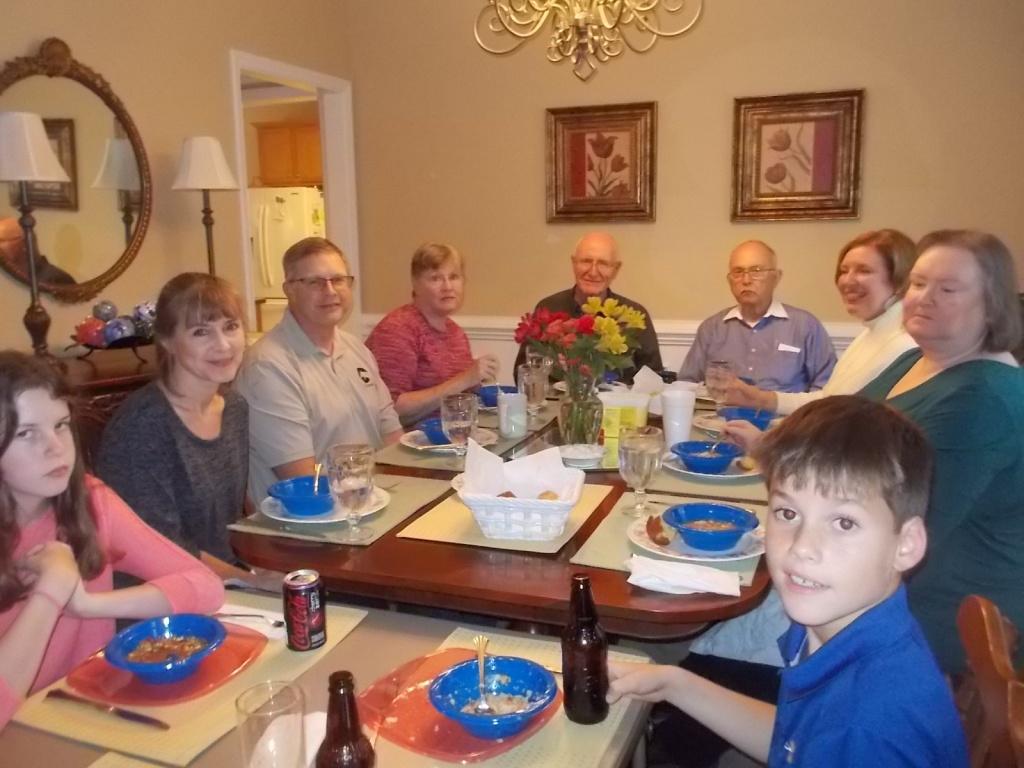 Kate, Kathie, John, Beth, Bob, John, Susan, Julie, Max