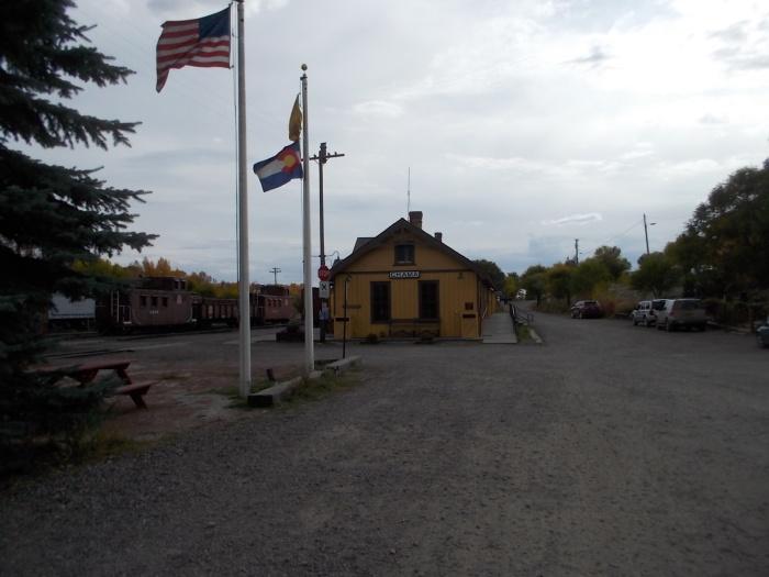 Chama, NM station