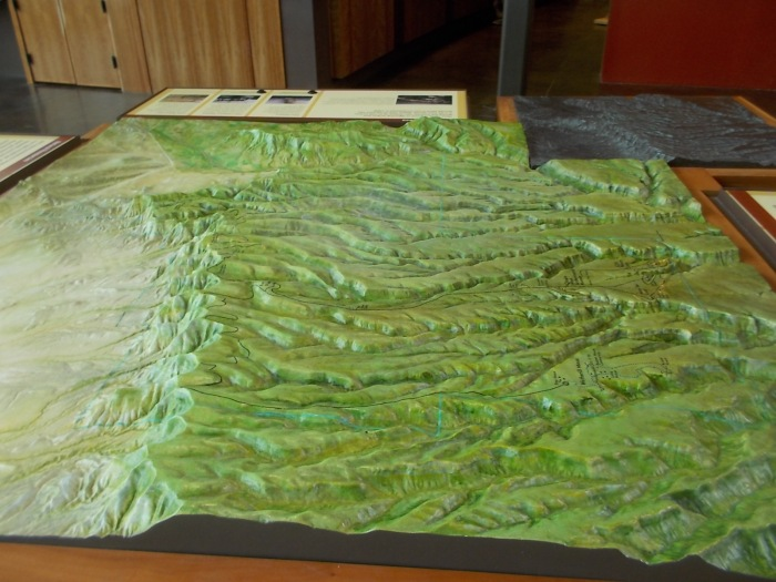 3D map of Mesa Verde area