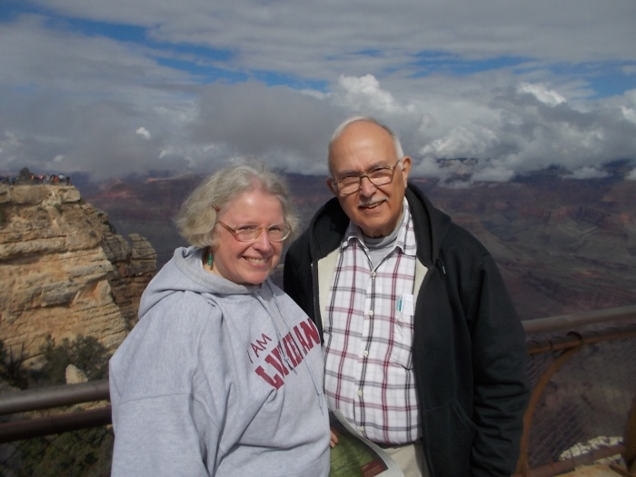 102215 Anne John at Grand Canyon