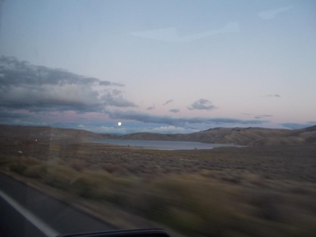 Gorgeous moon in Colorado