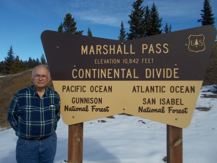 John at Marshall Pass