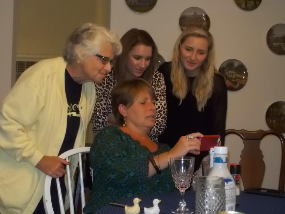 Chris, Barbara, Kylie, Amanda