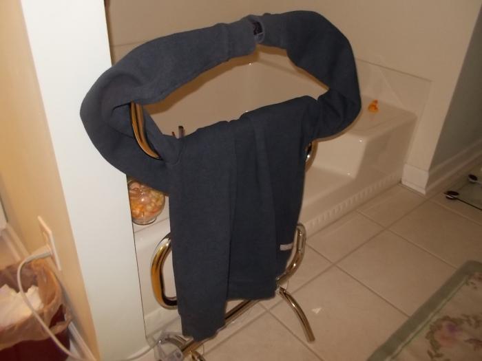 112615 Chris' sweater drying.JPG