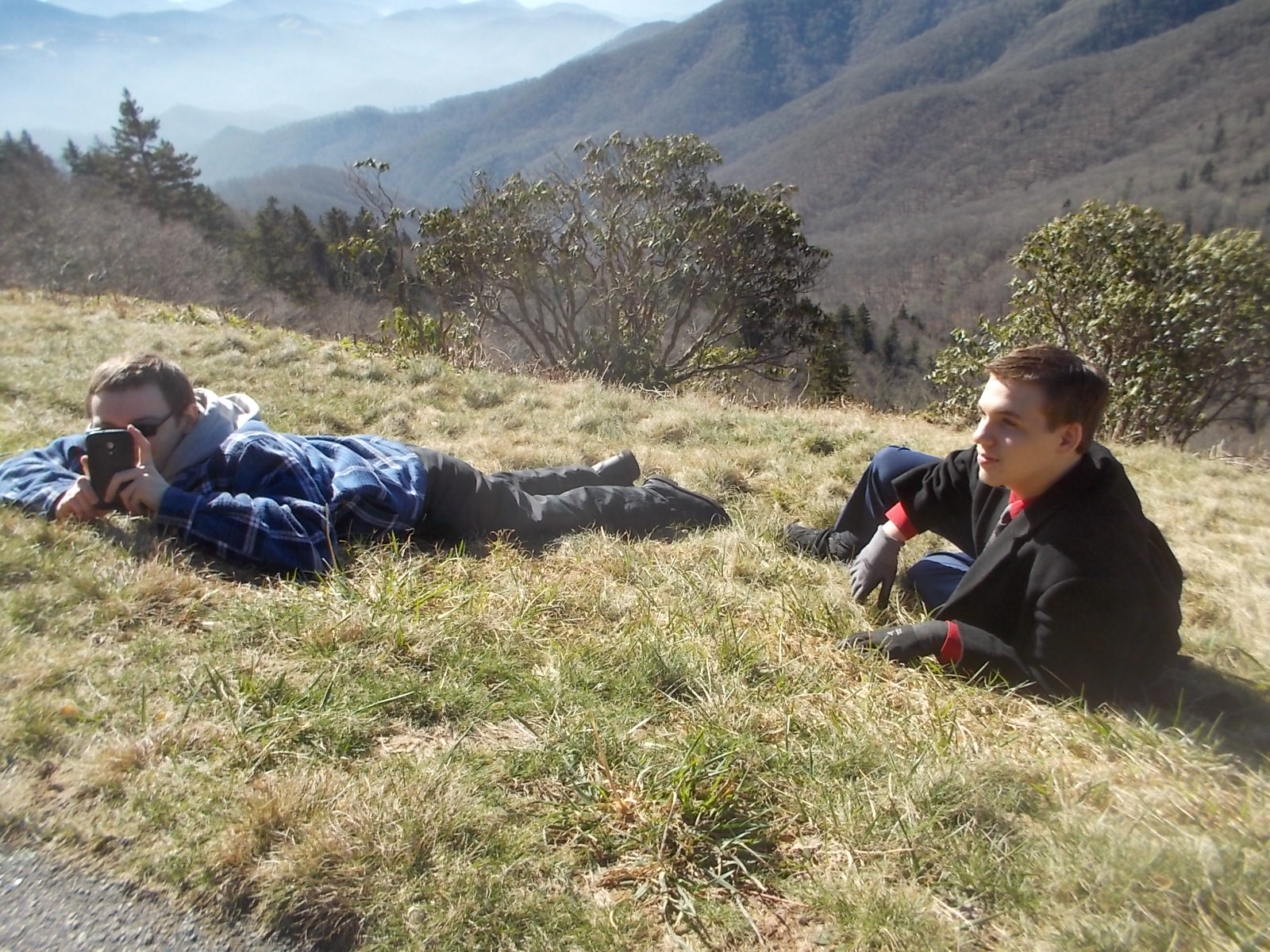 010216 D N lying on the mountain.JPG