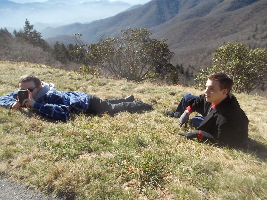 010216 D N lying on the mountain.JPG