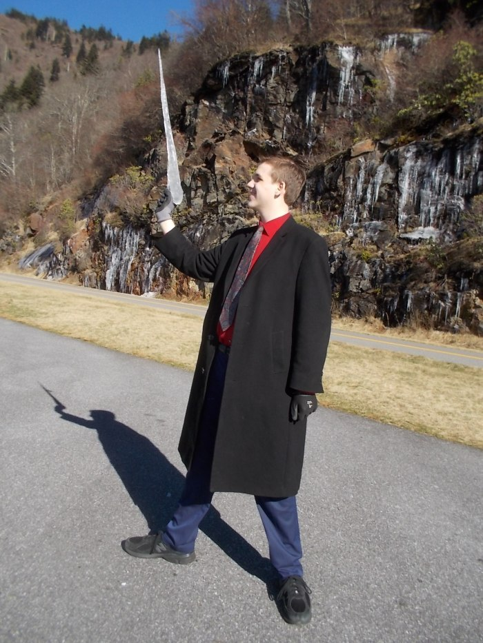 010216 N poses with icicle.JPG