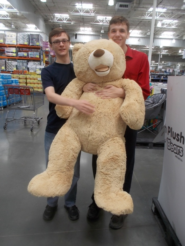 071016 D N Teddy at Costco