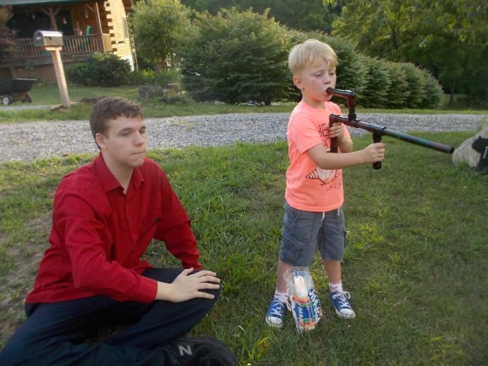071016 N Logan with gun