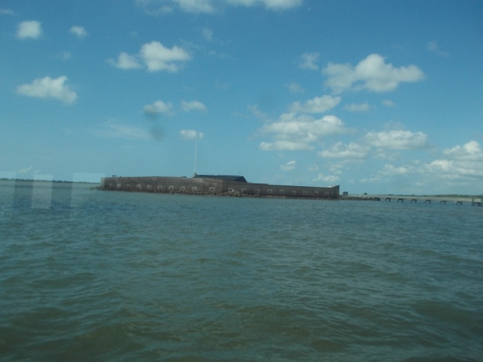 072516 Fort Sumter Charleston harbor cruise