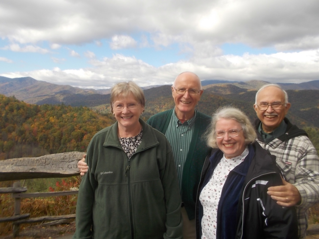 102216 Beth Bob Anne John lookout in Smoky Mnt Natl Park.jpg