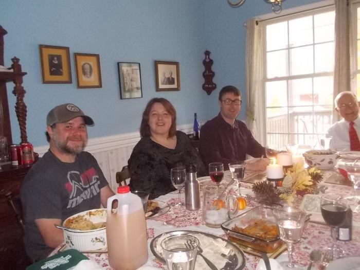 112416 Thanksgiving $ Lise Chris John.JPG