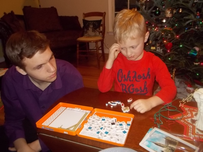 122916 N Logan play new Hangman.JPG