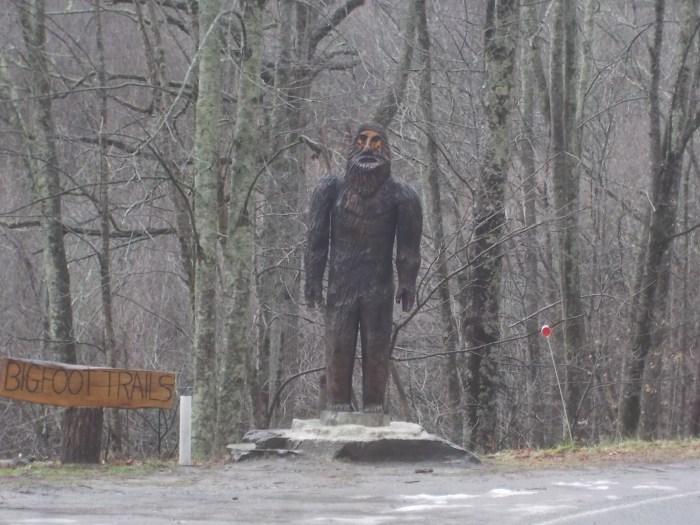 011117 Bill Foot trail marker.JPG