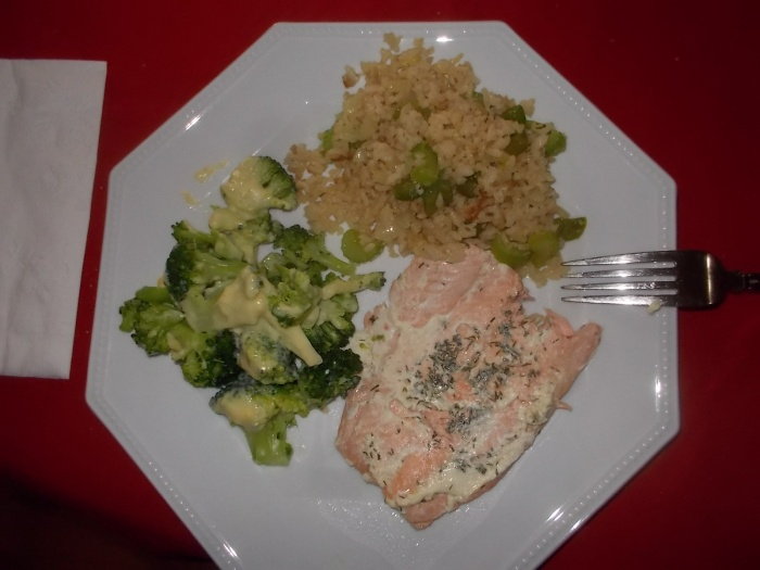 021817 Salmon, broccoli, fried rice.jpg