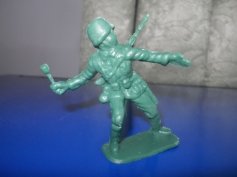051517 Toy soldier for prayer at David's pottery