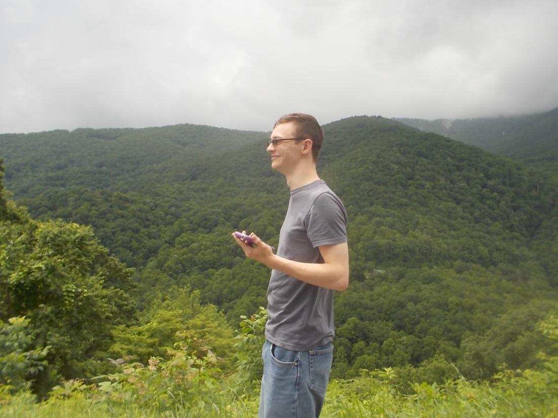 061517 David mountain gazing.JPG