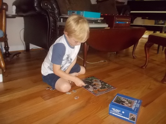081717 Logan works jigsaw by himself.jpg