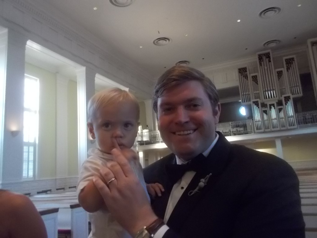 091017 5 Wed John Fredericks and son.JPG
