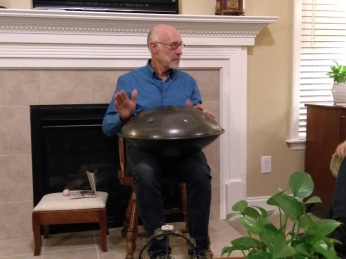 111817 Hunter on handpan