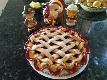 112317 Cranberry Mince pie