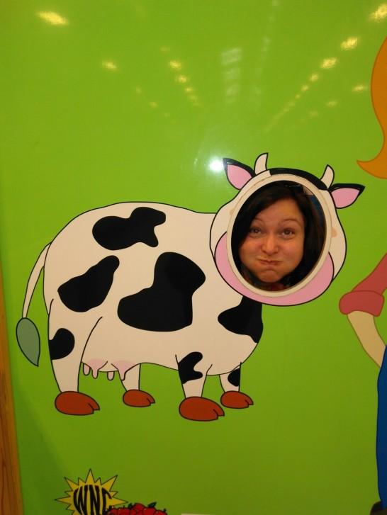112717 Lise at farmers' market 2