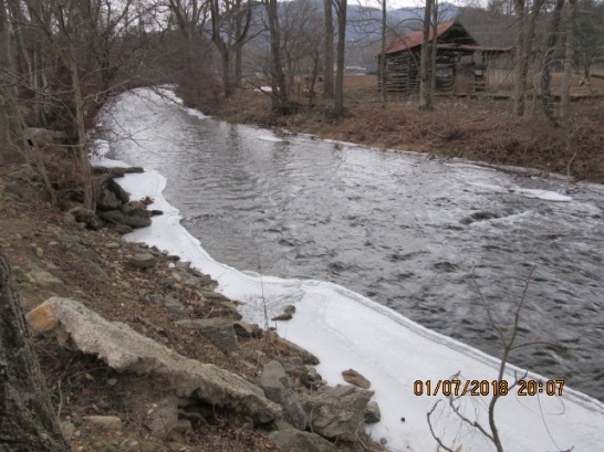 010818 Creek iced