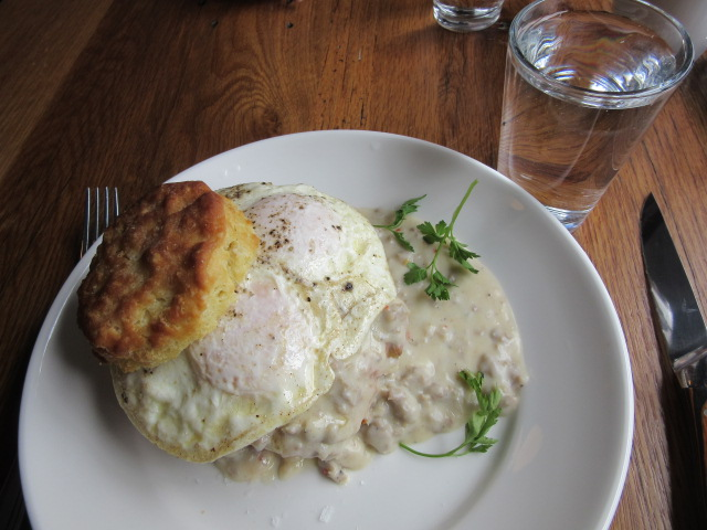 032518 Fried pork biscuit and egg.JPG