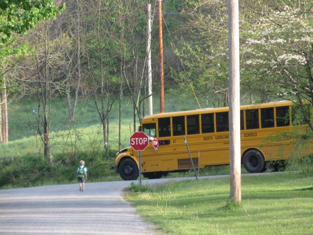 050318 Logan catches the bus.JPG