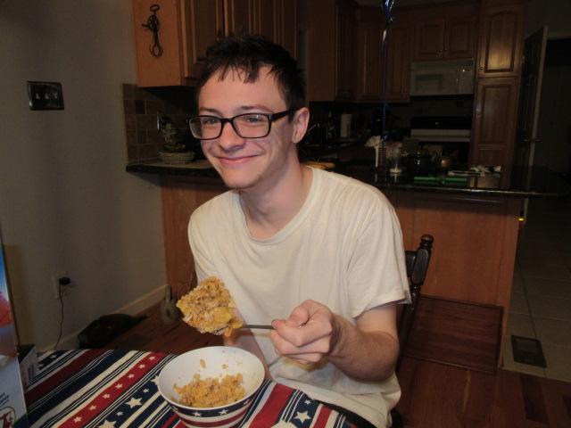 060318 David's hunk of cereal.JPG
