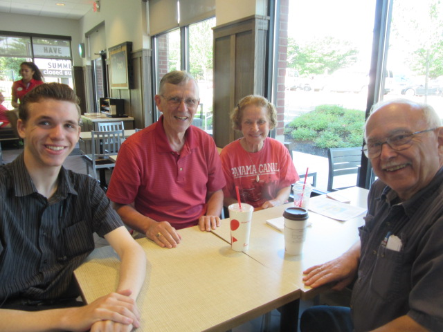 062618 N Thom BA JC breakfast at Chick fil A.JPG