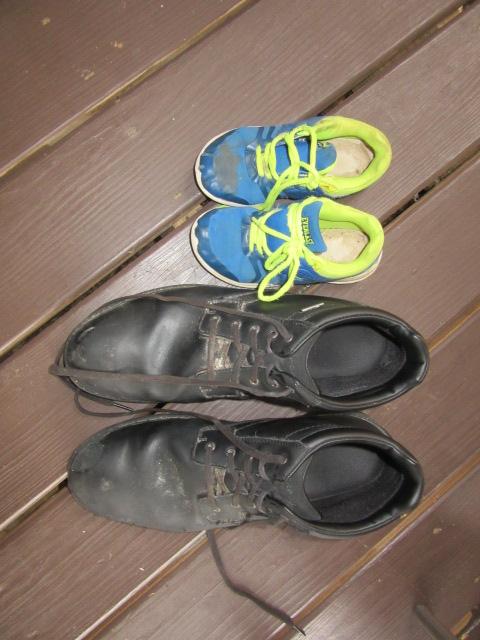 081718 Shoes of Logan and Nathaniel.JPG