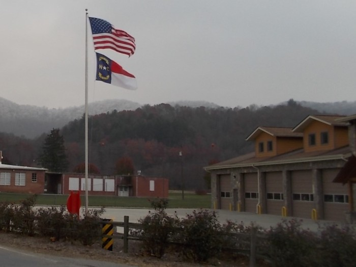 Jonathan Creek fire station.JPG