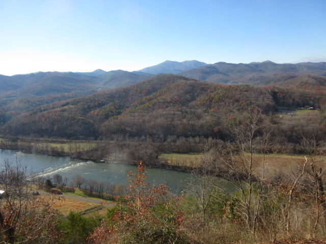 112918 French Broad River from top of mountain.JPG