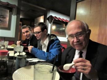 122318 Dinner at a Japanese steakhouse