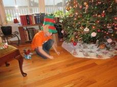 122618 Elf Logan spins a tiny top