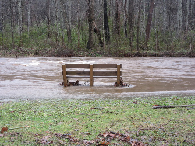 122818 Richland Creek near Rec Center flooding.JPG