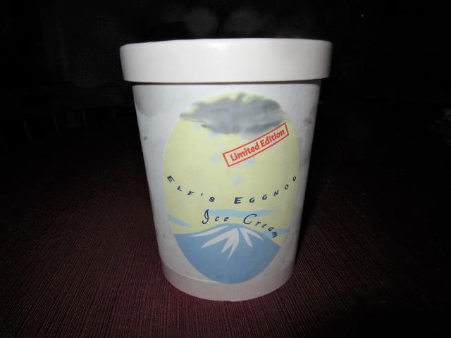 022219 Elf's Eggnog Ice Cream