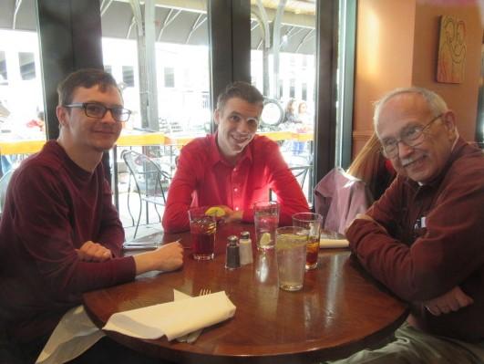 022519 D N JC eating in Asheville.JPG
