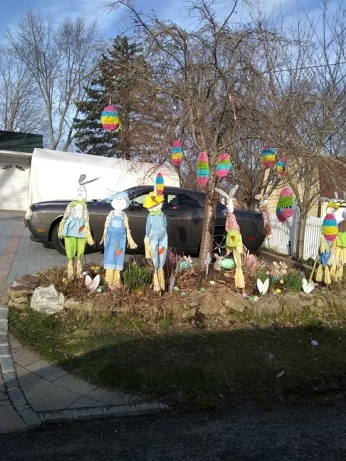 040219 Garish Easter decorations