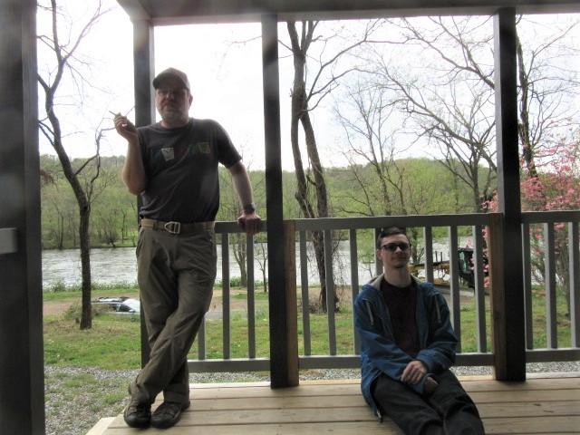 041319 $ David on $'s porch.JPG