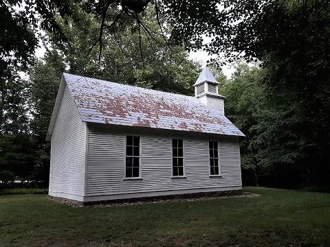 052719 Chapel at Cataloochee by Rose