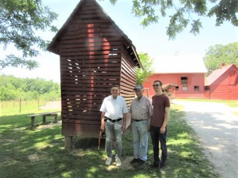 052819 3 Gerhard JC D at Sandburg goat farm